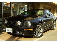 フォード マスタングザ ブラック 限定特別仕様車 HDDナビ ディーラー車