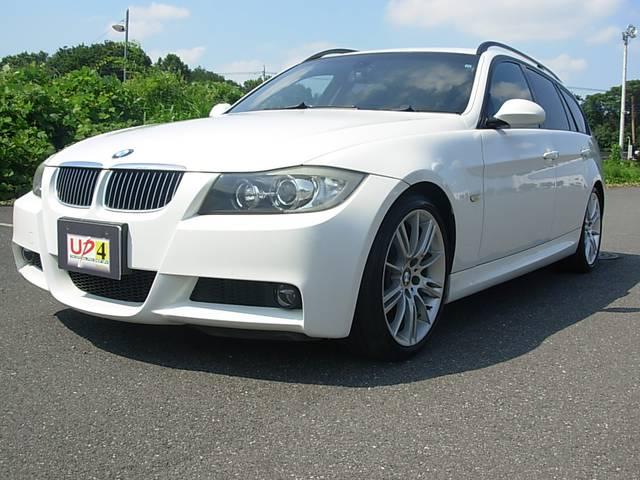 BMW 325iツーリング MスポーツHDDナビHIDミラETC