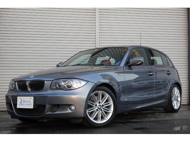 BMW 130i 後期型HDDナビ黒本革シート1年保証