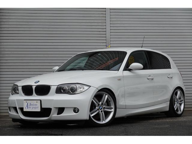 BMW 1シリーズ 130i Mスポーツ 130i Mスポーツ(5名) 6速マニュアル ビルシュタイン車高調 スロコン 黒革シート HDDナビ 純正オプション18インチアルミ 1年保証