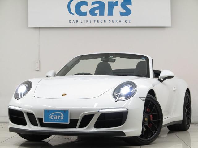 ポルシェ 911カレラGTS カブリオレSDナビRカメラ 新車保証継承