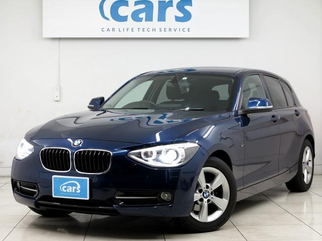 BMW 116i スポーツ 禁煙 純正HDDナビ HID ETC ディーラー記録簿有り Bluetooth接続 全国対応1年保証付き