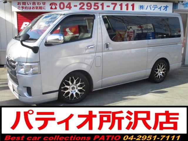 トヨタ ロングDX 6人 SDナビ Bカメラ セキュリティ アルミ