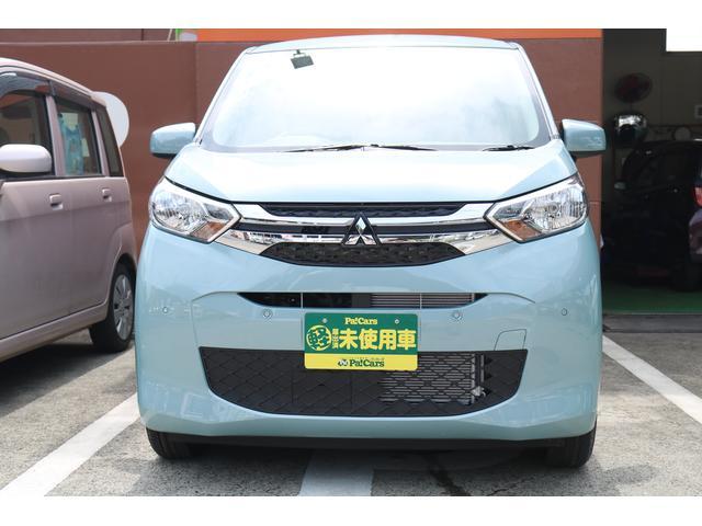 三菱 M 届出済未使用車 衝突被害軽減ブレーキ キーレス 禁煙車