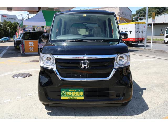 ホンダ N-BOX  届出済未使用車 キ-フリ- エアコン スマートキ- PS PW LEDヘッド ABS アイドリングストップ ベンチシート WエアB 電動格納ミラー