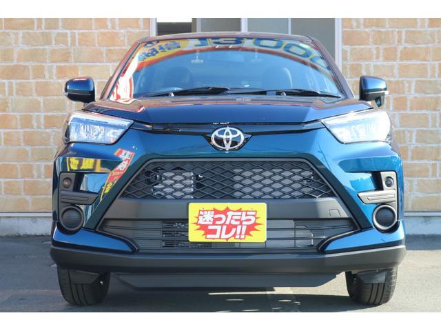 トヨタ ライズ X S 登録済未使用車 衝突軽減ブレーキ 禁煙車 コンパクトSUV アイドリングストップ LEDヘッドランプ スマートキー 衝突軽減