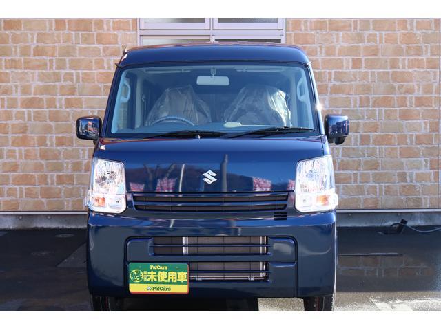 スズキ エブリイ PCリミテッド セキュリティ 電動格納式ドアミラー パワーウインドウ 禁煙 AC PS キーレスエントリー エアバッグ ABS