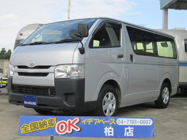 トヨタ ロングDX 9人乗 Wエアコン Rヒーター タイベル交換済