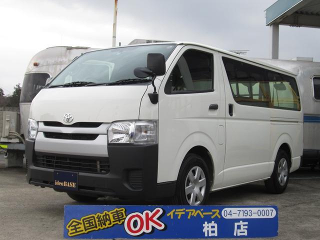 トヨタ ロングDX 9人乗 リアクーラー ナビ ETC