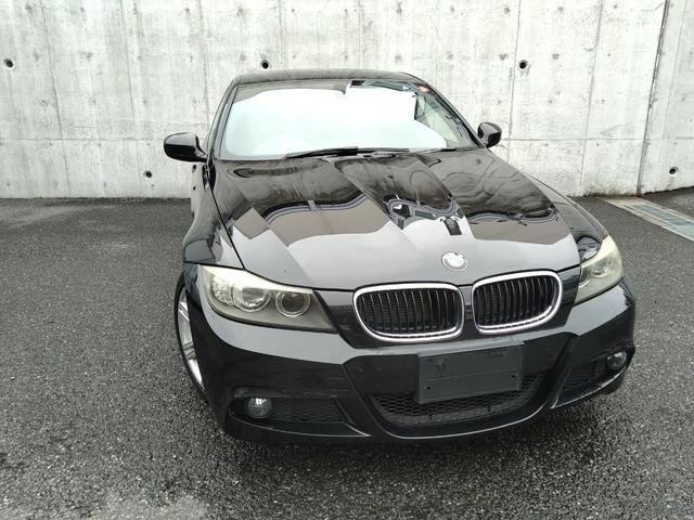 BMW 320i Mスポーツパッケージ 後期・6速MT・アルカンターラコンビシート・D席P席パワーシート・純正ナビ・Wエアコン  タイヤ4本/クラッチ新品交換