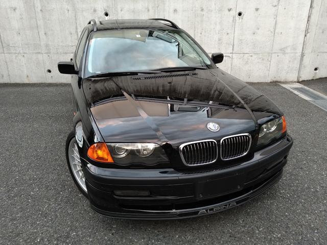 BMWアルピナ B3 3.3ツーリング ニコル正規ディーラー車・左ハンドル・レッドレザーシート/シートヒーター・ガラスサンルーフ・新車時ニコル保証書/ニコル認定中古車保証書完備・パナソニックストラーダナビ/バックカメラ・スペアキー