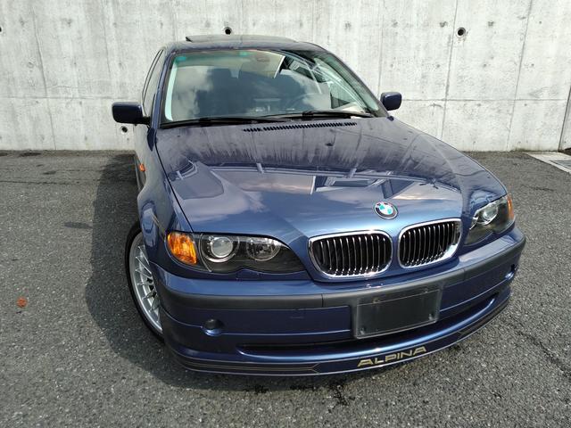 BMWアルピナ B3 3.3ツーリング ニコル正規ディーラー車・4WD・左ハンドル・ガラスサンルーフ・パワーシート・ALPINASWITCH-TRONIC6速AT・ボディーカバー
