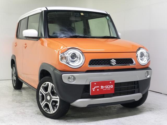 スズキ ハスラー X 4WD/SDナビ/フルセグ/Bluetooth/レーダーブレーキ/HID/オートライト/シートヒーター/スマートキー/1オーナー/禁煙車/1年保証付/3年保証プラン有