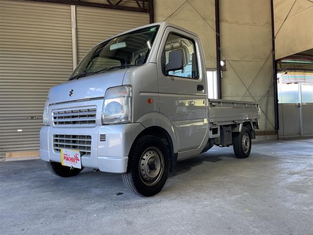 スズキ キャリイトラック  エアコン/パワステ/タイヤ新品交換