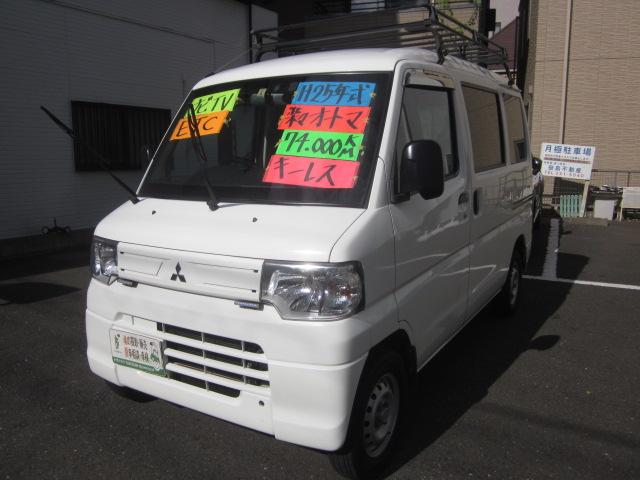 三菱 ミニキャブバン CDハイルーフオートマナビTVETCキーレ...