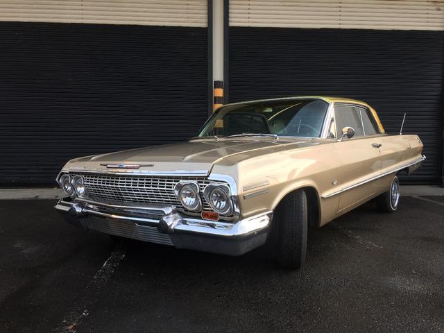 シボレー 1963年モデル ベンチシート ブルー張替え