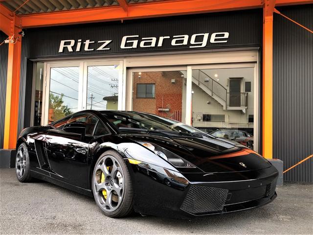ランボルギーニ ベースグレード ブラック&イエローレザーシート D車