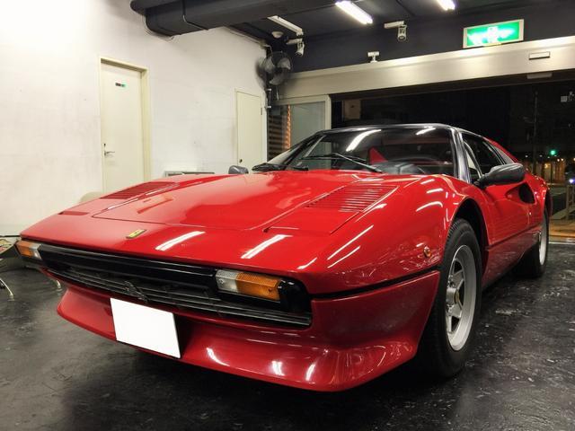 フェラーリ 308 GTSi 純正アルミホイル 低走行車 (検2.3)