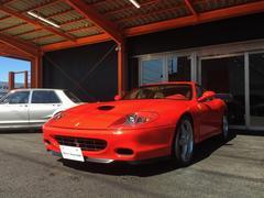 フェラーリ 575M マラネロ F1 Tubiマフラー 社外HDDナビ