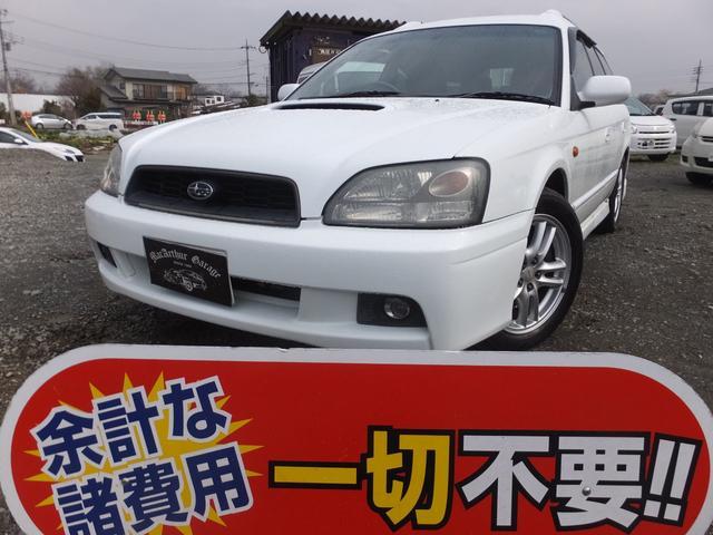 スバル GT ナビ 4WD キーレス 記録簿付き HID AW