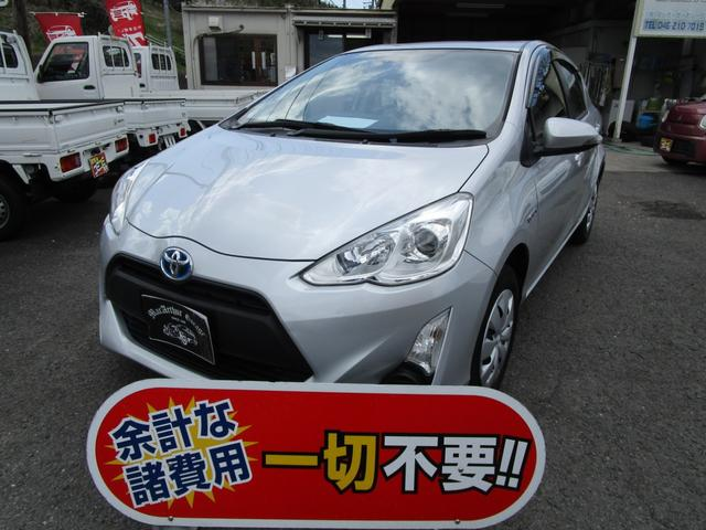 トヨタ アクア L アイドリングストップ 衝突安全ボディ CD DVD再生