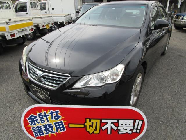 トヨタ マークX 250G リラックスセレクション 走行34000Km HDDナビ