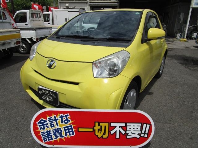 トヨタ iQ 100X 2シーター SDナビ ワンセグTV キーレス