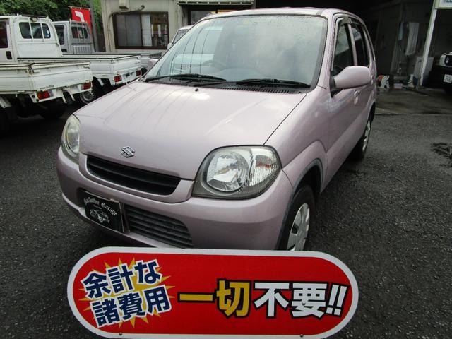 スズキ Kei A 車外マフラー 5速マニュアル ドライブレコーダー CD再生 エアコン パワーステアリング パワーウィンドウ 修復歴無