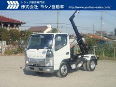 キャンター三菱 3t アームロール 5MT