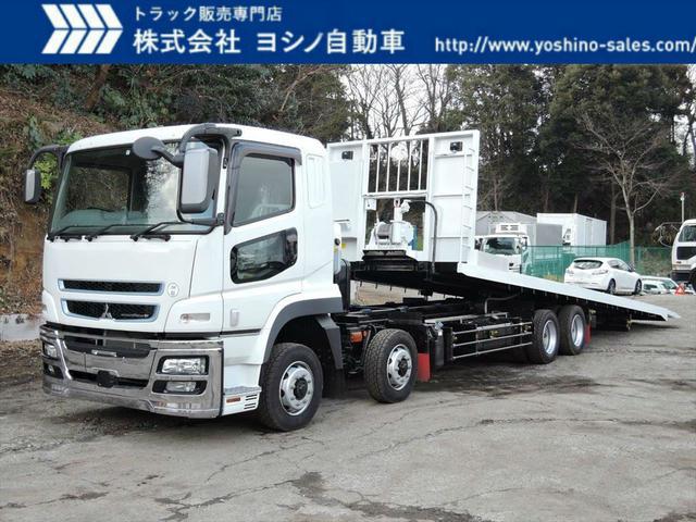 三菱 フジタ 25t 4軸 セーフティーローダー 自動歩み(1枚目)