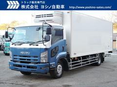 フォワードいすゞ 格納ゲート リアエアサス 増トン 冷蔵冷凍車