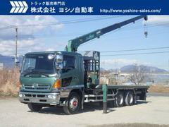 ヒノレンジャー日野 クレーン付平 4段 ラジコン 増トン