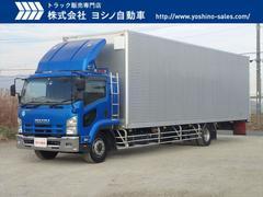 フォワードいすゞ ギガ 9600ボディ 増トン オバケバン
