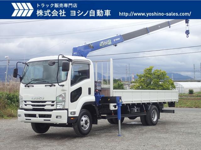いすゞ クレーン付平 4段・ラジコン・フックイン 積載2.9トン