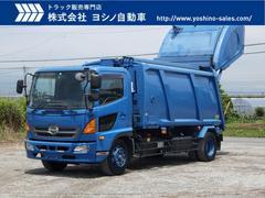 レンジャー日野 レンジャー 増トン 12.2立米 プレス式 塵芥車