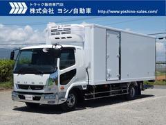 ファイター三菱 ワイド巾 格納PG サイドドア付 低温冷凍車