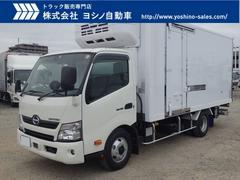 デュトロ 日野 3.45t ワイドロング 低温冷凍車 格納PG(日野)