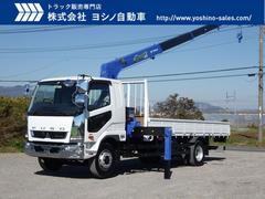 ファイター三菱 増トン 4段 ラジコン クレーン付平