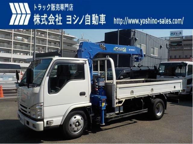 いすゞ いすゞ 3tクレーン付平 タダノ 4段 ラジコン