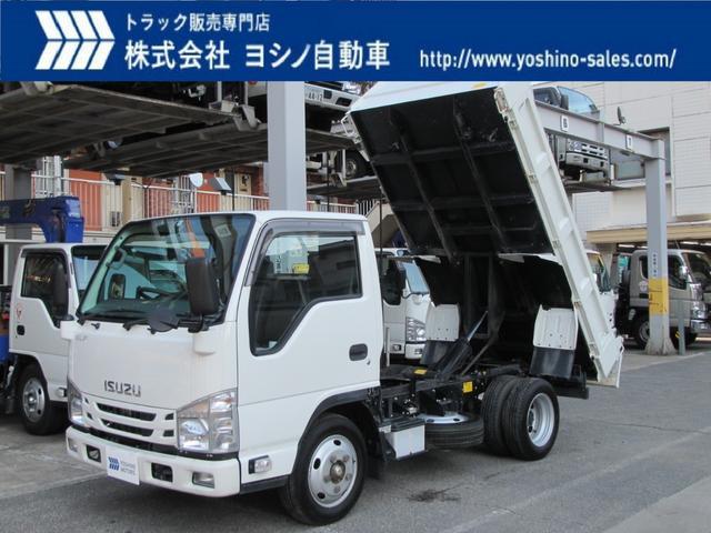いすゞ いすゞ 2t 強化ダンプ 新明和
