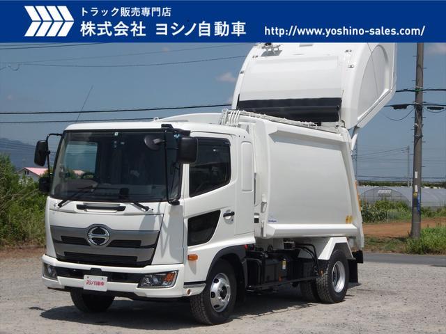 日野 日野 中型パッカー車