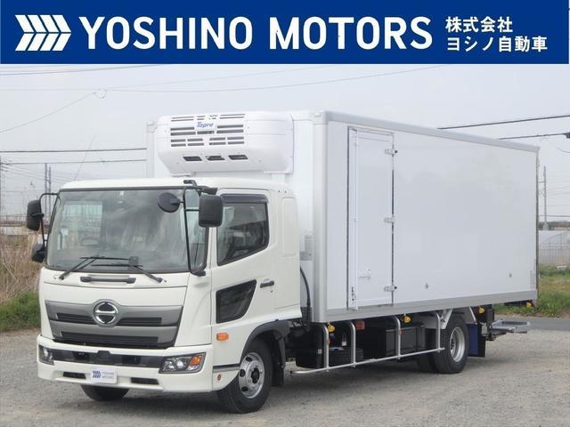 日野 レンジャー 冷蔵冷凍車P/G 未使用 ワイド リアエアサス 格納ゲート 冷凍機/東プレ -30℃設定 210馬力 6MT 積載2.55t