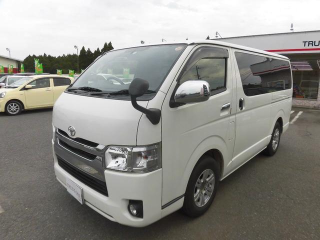 トヨタ ロングDX GLパッケージ ワンオーナー 純正ナビ 地デジ