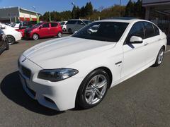 BMW523d Mスポーツ サンルーフ ワンオーナー 純正ナビ