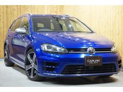 VW ゴルフRヴァリアントベースグレード 衝突回避死角検知レーンアシスト 禁煙車ナビ