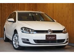 VW ゴルフヴァリアントTSIハイラインブルーモーションテクノロジー 衝突回避