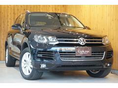 VW トゥアレグV6 ブルーモーションテクノロジー 禁煙車ワンオーナー地デジ
