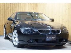 BMW650i アイボリー本革サンルーフ HDDナビ地デジTV