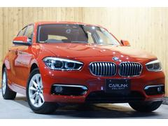 BMW118i スタイル 禁煙1オーナー ハーフレザー HDDナビ