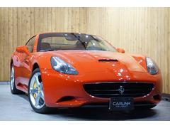 フェラーリ カリフォルニアベースグレード 禁煙車 ヒーター付き本革パワーシート ナビ